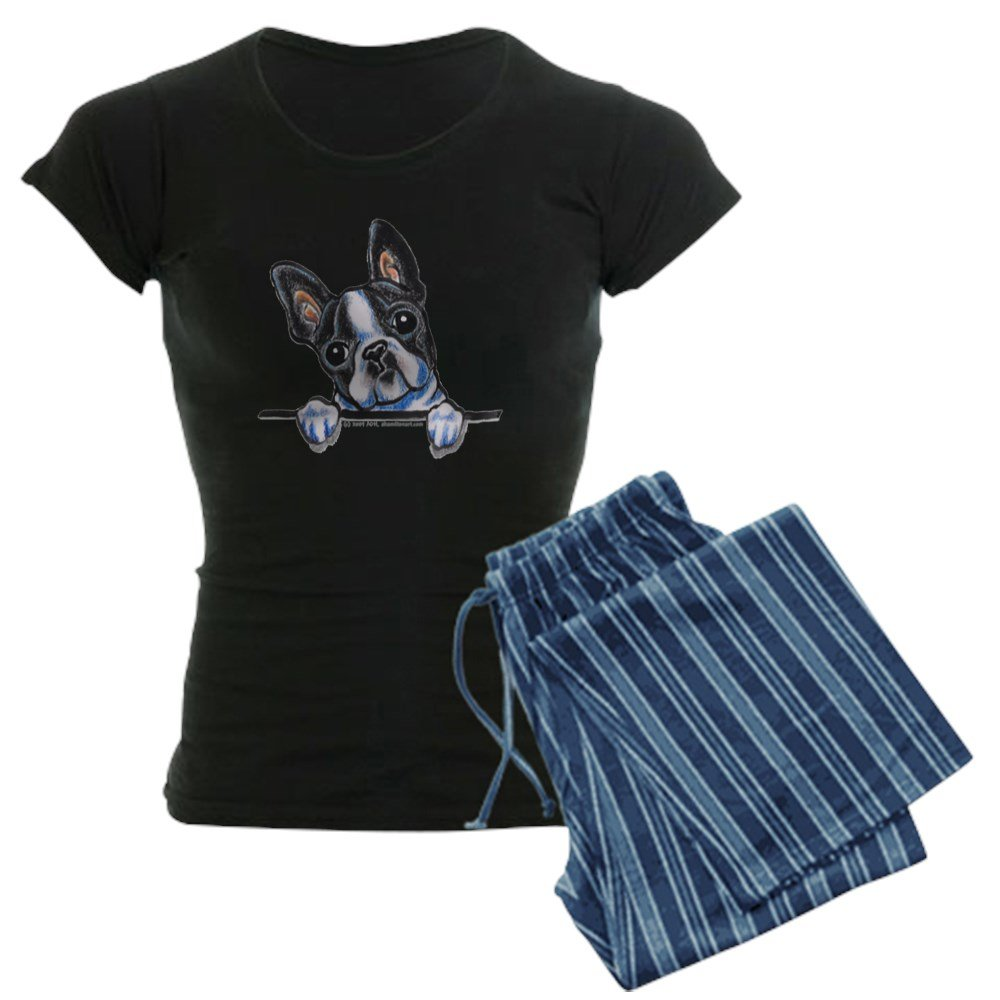CafePress - Curious Boston - Womens Pajama Set