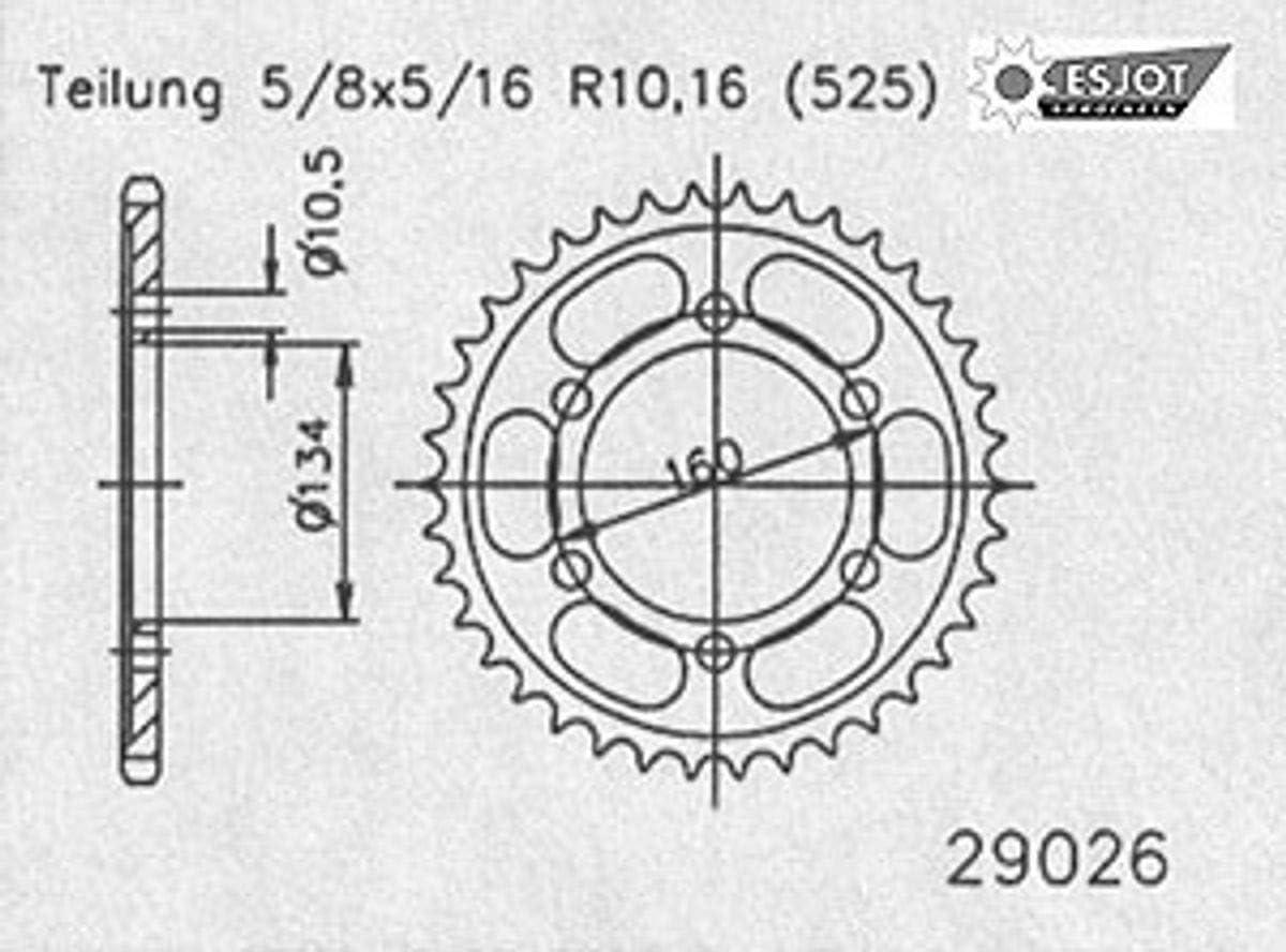 REGINA O catena di bloccaggio con serratura VX per Honda CBR 600 RR sostituisce 2003-2006