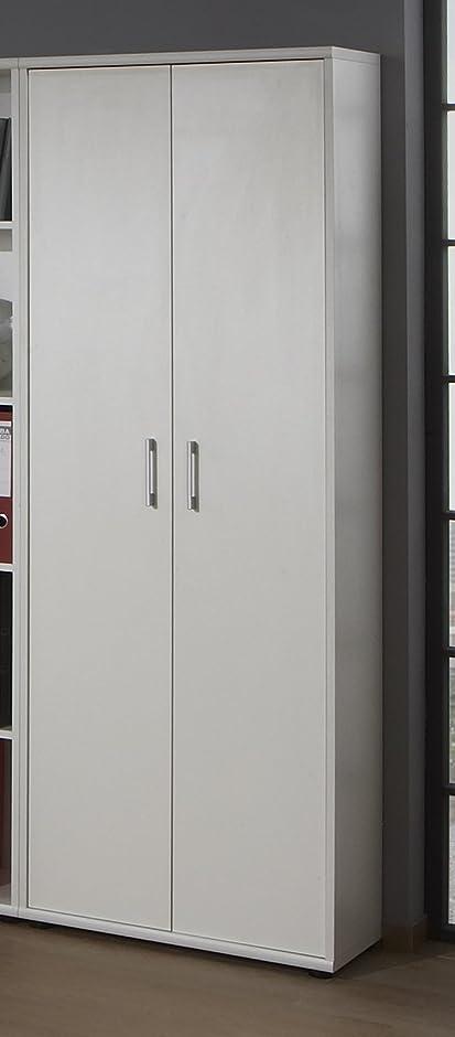 Aktenschrank weiß  Büroeinrichtung Büromöbel Büro Weiß Eckschreibtisch Bürocontainer ...