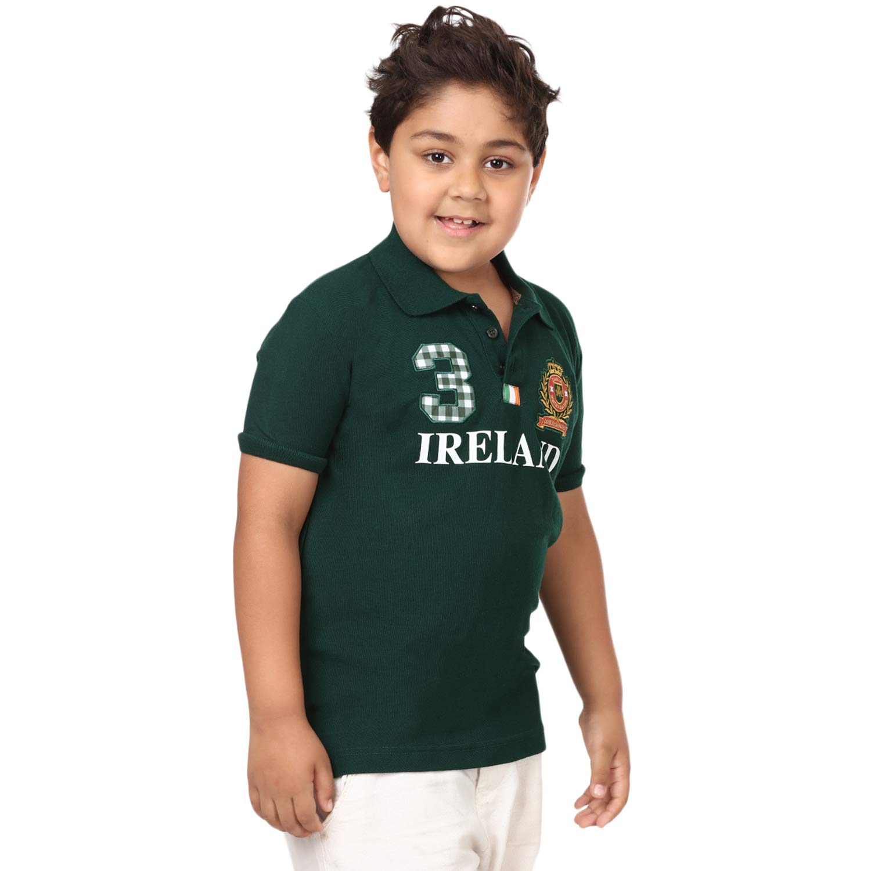 Carrolls Irish Gifts Bosque Verde Irlanda 3 Kids Polo para Hombre ...