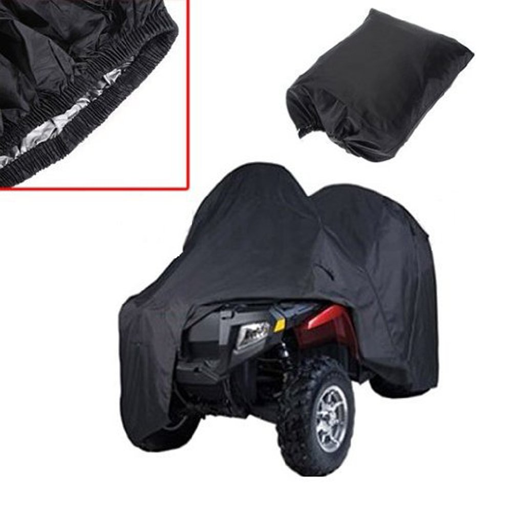 logas Quad ATV Couverture Housse de Protection pour ATV Quad Anti-UV Imperm/éable Anti-poussi/ère Sac de Rangement 3 Taille /à Choisir L//XXL//XXXL