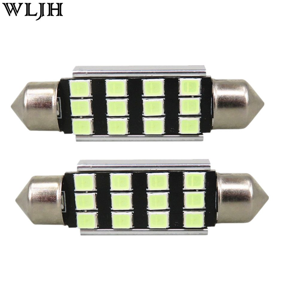 WLJH 13x Blanco puro Canbus Error Paquete de kit de luz LED para autom/óvil gratis para 2004-2010 X3 E83-2Yrs Garant/ía