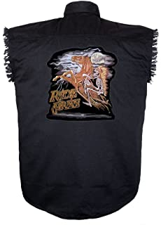 Ride Free Indian /& Horse Patch Biker Back Patches