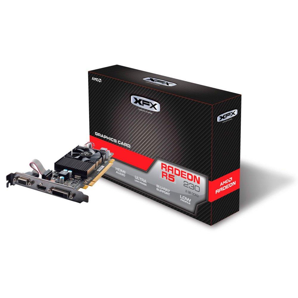 XFX AMD Radeon R5 230 2 GB GDDR3 - Tarjeta gráfica (Radeon ...