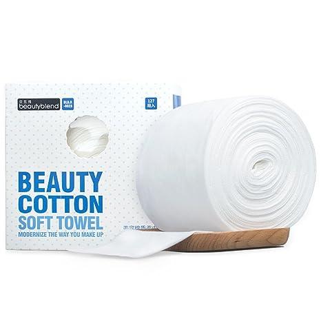 Algodón tejido facial, iceblueor limpiaparabrisas toalla de algodón suave (uso en seco/húmedo