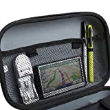 Large GPS Navigation Travel Case by USA Gear - Works With Select 4.3-Inch to 5-Inch Garmin Nuvi , Magellan Roadmate , TomTom GO Live GPS Navigators & Accessories