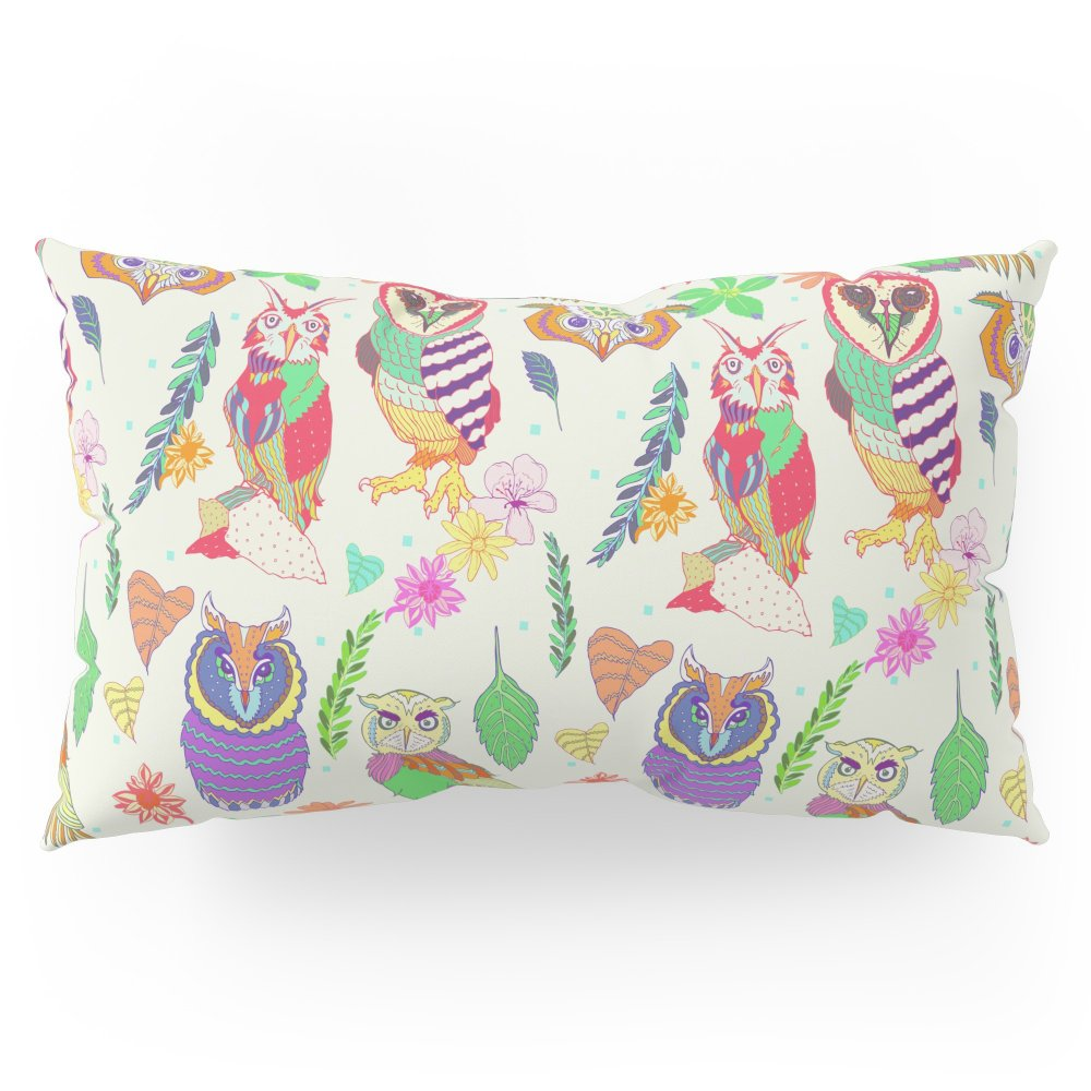 Society6 Owl Always Love Owls Pillow Sham King (20'' x 36'') Set of 2
