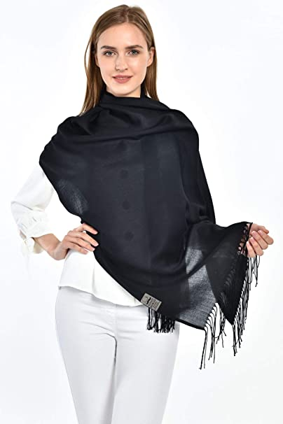 Pashmina Scarfs for Women Shawls and Wraps for Evening Dresses 78x27 Soft Lightweight Fashion Head Scarves