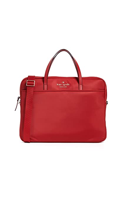 the latest e15ae 9bade Kate Spade New York Universal Nylon Slim Laptop Case, Royal Red, One Size