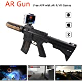 AR Game Gun Augmented Reality VR Gun for Video Game with Bluetooth Connecting IOS, Android Smart Phone