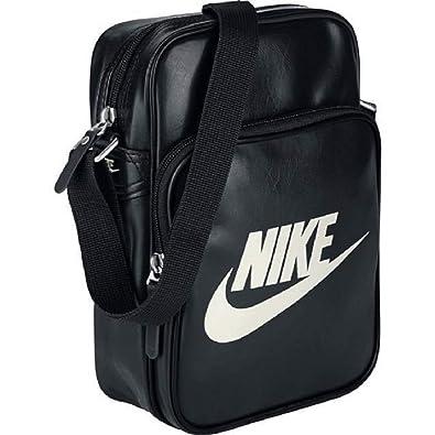 9fced93719 Nike, Sac bandoulière Homme - Noir - Noir, S: Amazon.fr: Chaussures ...