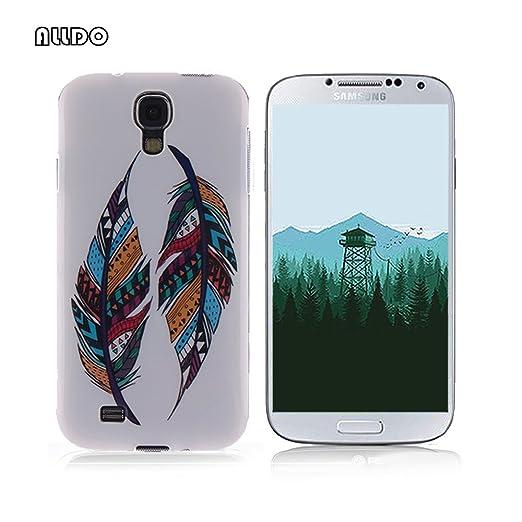 8 opinioni per AllDo Custodia in Silicone per Samsung Galaxy S4 i9500 Cover Gomma TPU Custodia