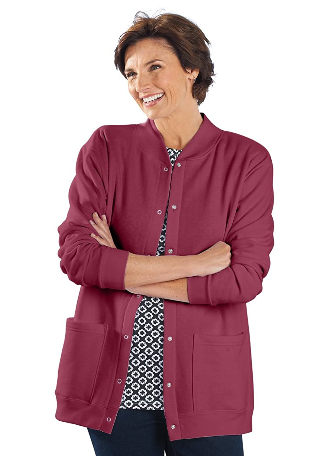 National Fleece Cardigan at Amazon Women's Clothing store ...