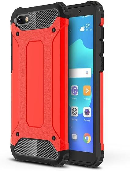 HUUH Cover Huawei Honor 7S Huawei Y5 2018, Combinazione TPU PC,Protezione Perfetta del Tuo Telefono,Esecuzione squisita,Cassa del Telefono Molto ...