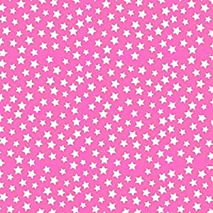 SheetWorld Fitted Oval Crib Sheet (Stokke Sleepi) - Primary Stars White On Pink Woven - Made In USA