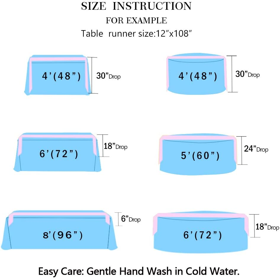 Paillettes Chemin de table ShinyBeauty Fournitures de f/ête 30,5 x 182,9 cm Fushia Fuchsia Rose vif D/écoration de la maison 2020-12 x 72 cm Chemin de table /équin