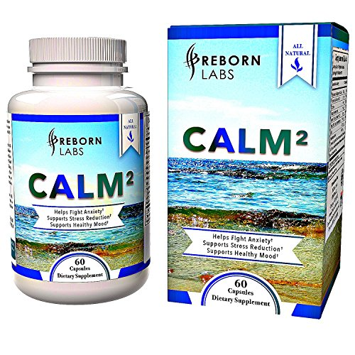 Anxiety Relief Supplement for Relaxation, Positive Mood, & Focus | Superior Formula With Magnesium, Ashwagandha, Theanine | Herbal Blend for Natural Stress Support and Anxiety Relief