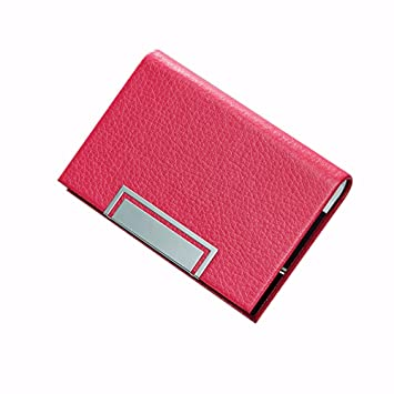 NEW Men Women Credit Card Business Name Card Case Holder PU leather High Quality