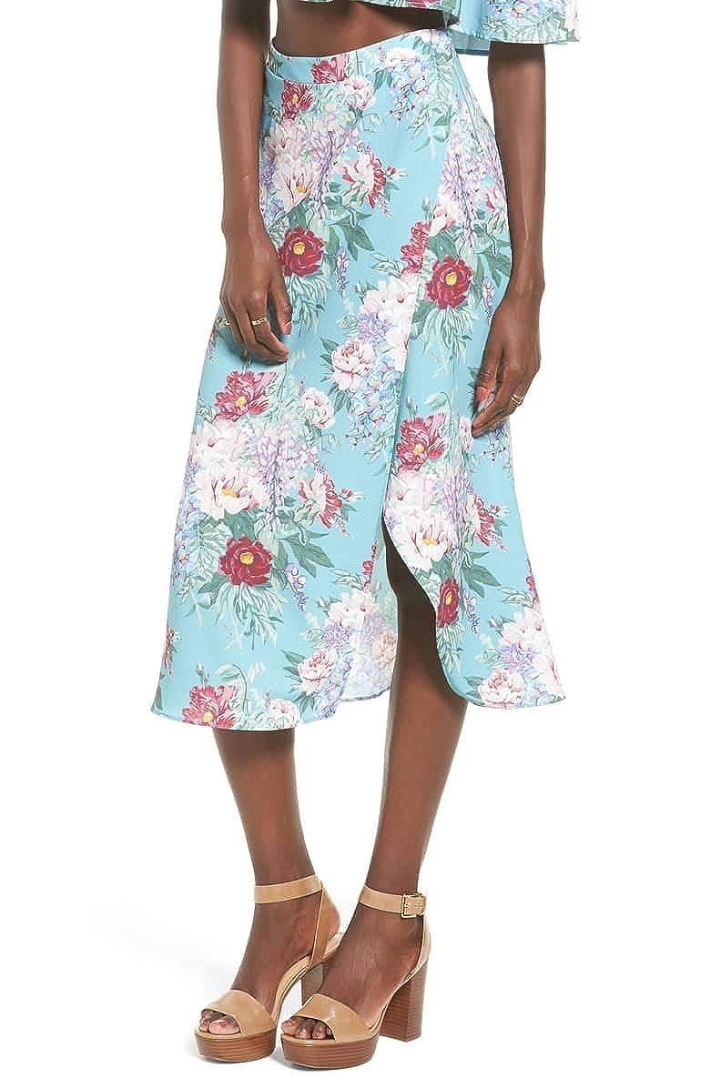 Darling Dolls Crinkle Stretch Show Me Your Mumu Womens Flirt Skirt