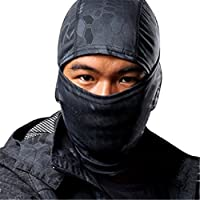 Aquiver Python Outdoor Hunting/Fishing/Tactical Camouflage Full Face Protection Balaclava Mask CS Tactical Gear