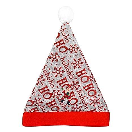 56950f90be017 Amazon.com  Dancing Santa Claus Hohoho Decoration Signs Decor Red ...