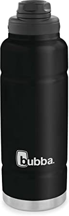 bubba Trailblazer Vacuum-Insulated Stainless Steel Water Bottle, 40 oz., Licorice