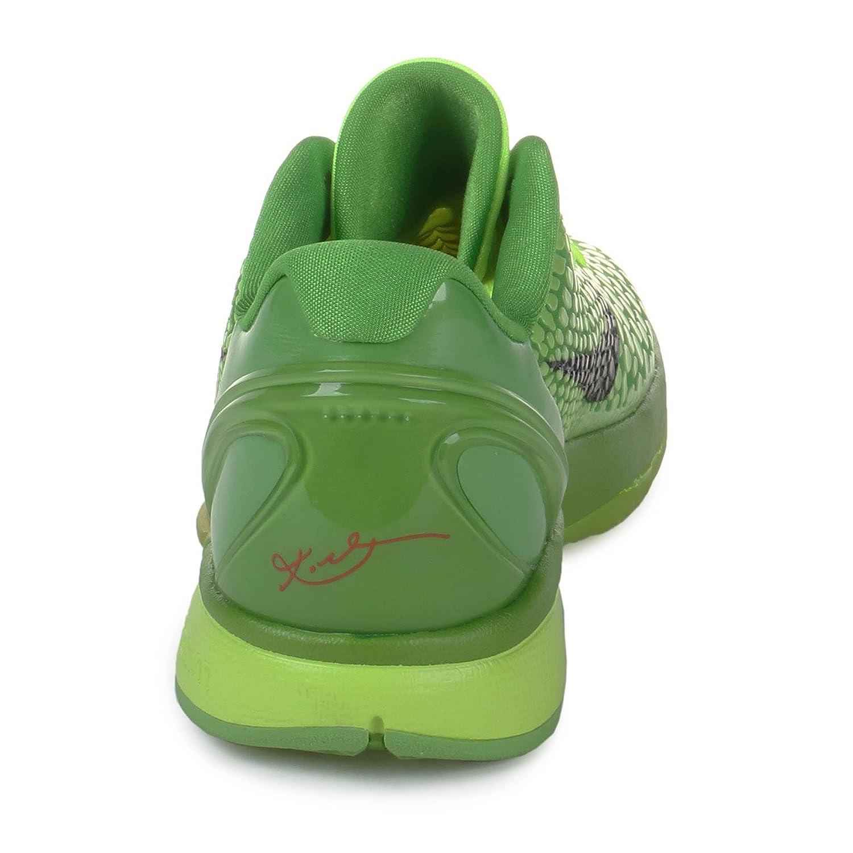 separation shoes a2ac2 db505 ... france amazon nike mens zoom kobe vi grinch volt black green apple  crimson synthetic size 12