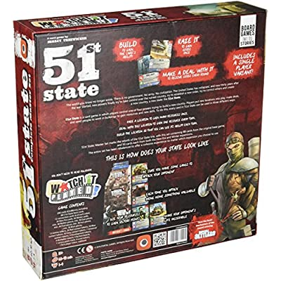 51st State Master Set Board Game: Toys & Games