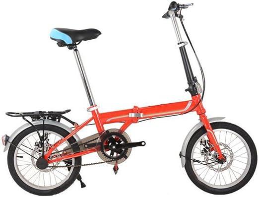 GHGJU Bicicleta Plegable De 14 Pulgadas Y 16 Pulgadas Bicicleta ...