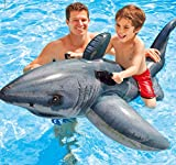 Hot Sale! 173cm size baby swimming toy shark swim ring floating row children swimming toys baby boy swim toy for riding in the water