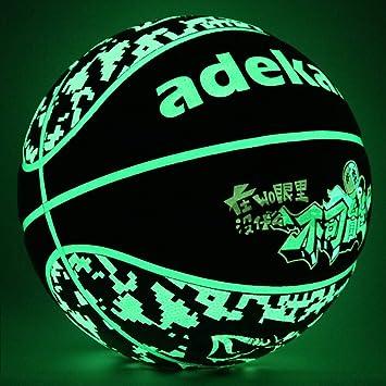 Amazon.com: ADEKALE Balón de baloncesto, sin pilas, pelota ...