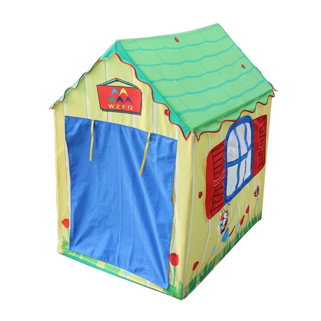 SESO UK- Prince Or Princess Sommer Palace Schloss Kinder Kinder spielen Zelt Haus Indoor oder Outdoor Garten Spielzeug Playhouse Beach Sun Zelt Jungen Mädchen (110x75x112cm)