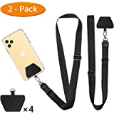 Doormoon Phone Lanyard, Universal Adjustable Neck Straps for Phone Case Keys ID Badges Compatible with iPhone, Samsung, Motor