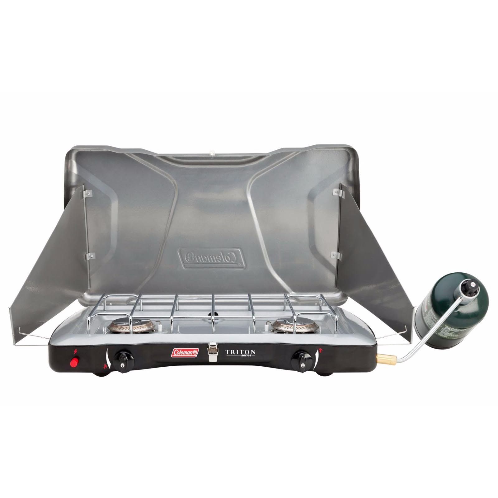 Coleman Portable Triton + Propane Gas Camping Stove (3 Set) by Coleman