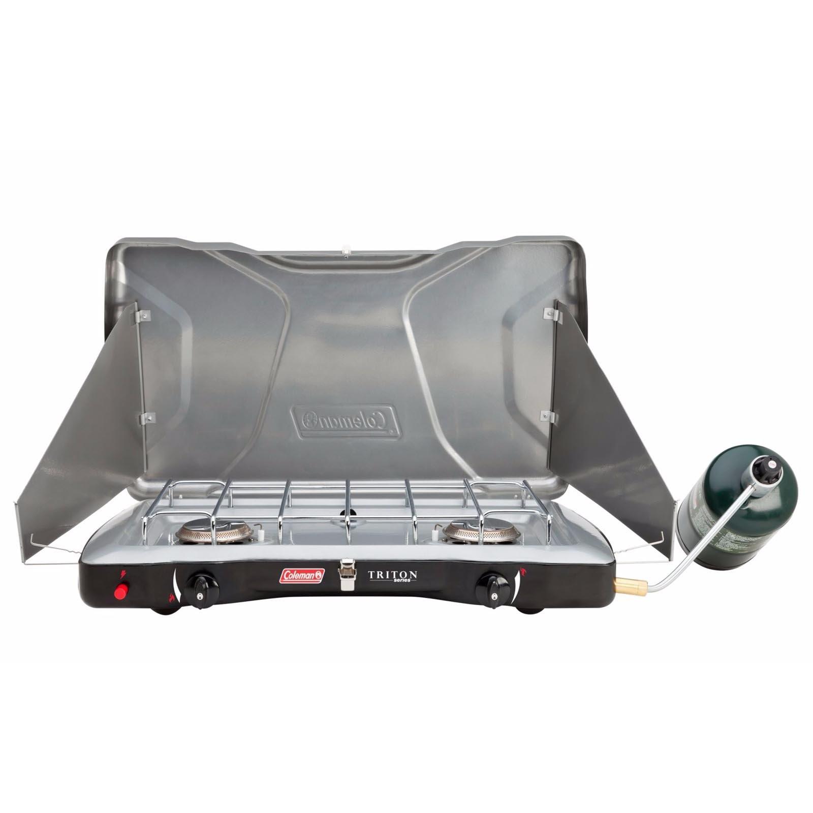 Coleman Portable Triton + Propane Gas Camping Stove (3 Set)