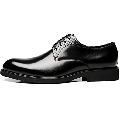 Formelle Herren Classic Shoe Handgefertigte Leder Soled Workplace Derby Fashion Lace-up Spitz Lederschuhe