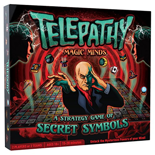 Magic Minds from MIGHTY FUN, Strategy Board Game combining Deduction, Logic and Memory, for Two-Players or Teams, Ages 10 years and Up and a fun challenge for Adults, Families and Seniors