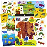 World of Eric Carle Stickers - The Very Hungry Caterpillar, Very Busy Spider, Brown Bear, and more!