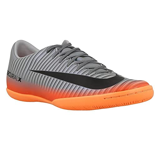 Nike Men s MercurialX Victory VI CR7 (IC) Indoor Soccer Cleat Cool Grey  Metallic Hematite Wolf Grey Size 7. 5 M US  Buy Online at Low Prices in  India ... faf1c6686