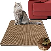 "Diversity world Natural Sisal Cat Scratching Mat (20""x20"", Khaki)"