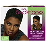 Shortlooks Luster's Pink Short Looks No-lye Texturizer Kit by Shortlooks