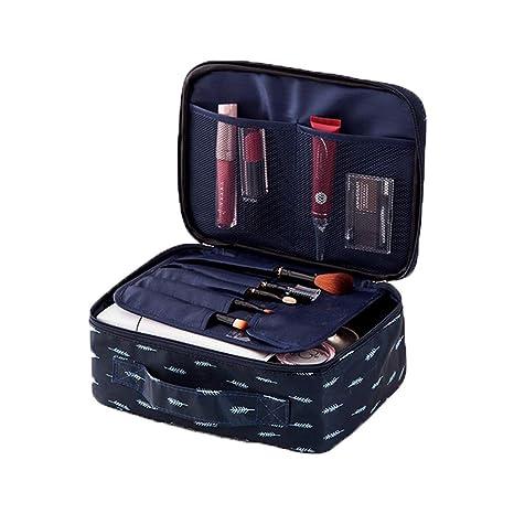 Amazon.com: Bolsas de cosméticos de viaje para mujeres ...