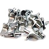 12 PACK OF METAL 5mm (M5) SHELF SUPPORT STUD PEGS, KITCHEN CABINETS IKEA STEEL PEG PLUG IN