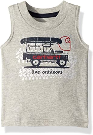 Carhartt Baby Boys Sleeveless Tee T-Shirt