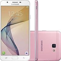 "Samsung - Smartphone Galaxy J7 Prime, tela 5.5"" FHD, leitor de impressão digital, Android 6.0, 32GB, Rosa"