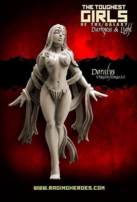 Amazon com: Raging Heroes Miniatures - Darkness & Light 28mm