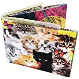 Adorable Kitten Collage With Meow Sounds Bi-fold Wallet