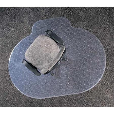 ALECO 120483 Ellipse Chair Mat,Carpet,46 x 60 In.