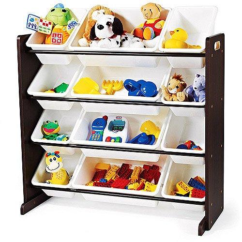 Tot Tutors Toy Organizer Espresso Finish B009uh8nz8 Amazon