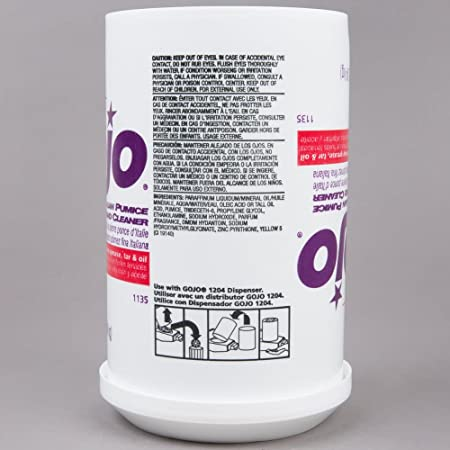 Amazon.com: Gojo Fine Italian Pumice Hand Cleaner 1135-06, 4.5 Lb - 2 Count: Automotive
